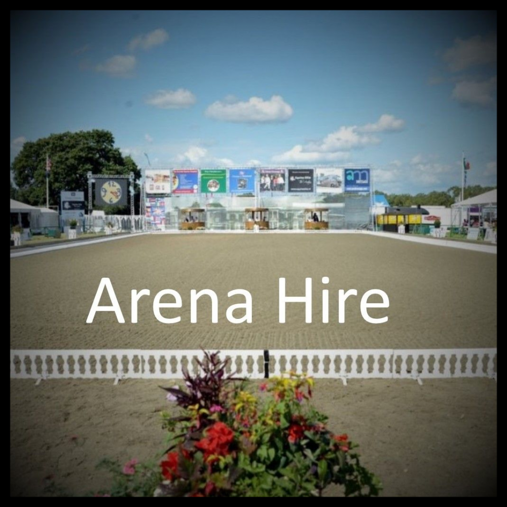 Dressage Arena Hire - July